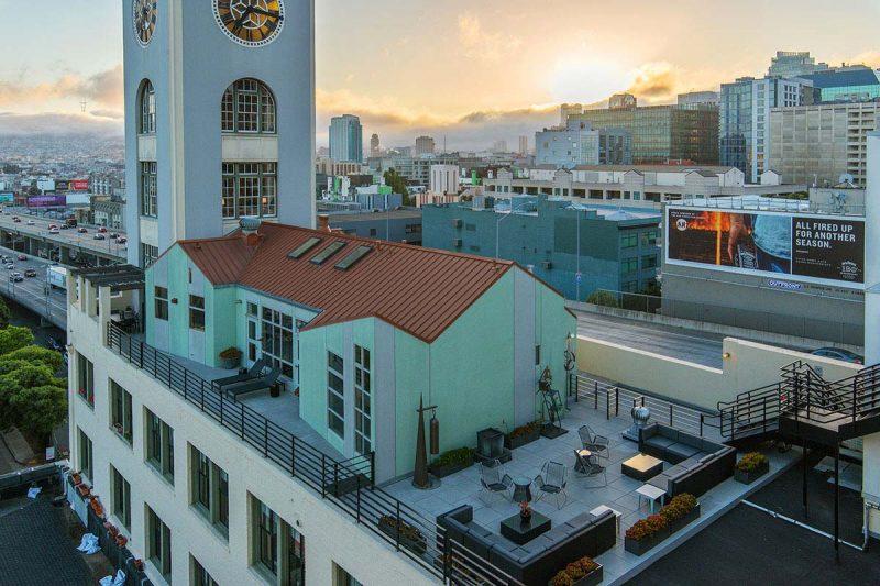 Loft avec terrasse de toit à San Francisco