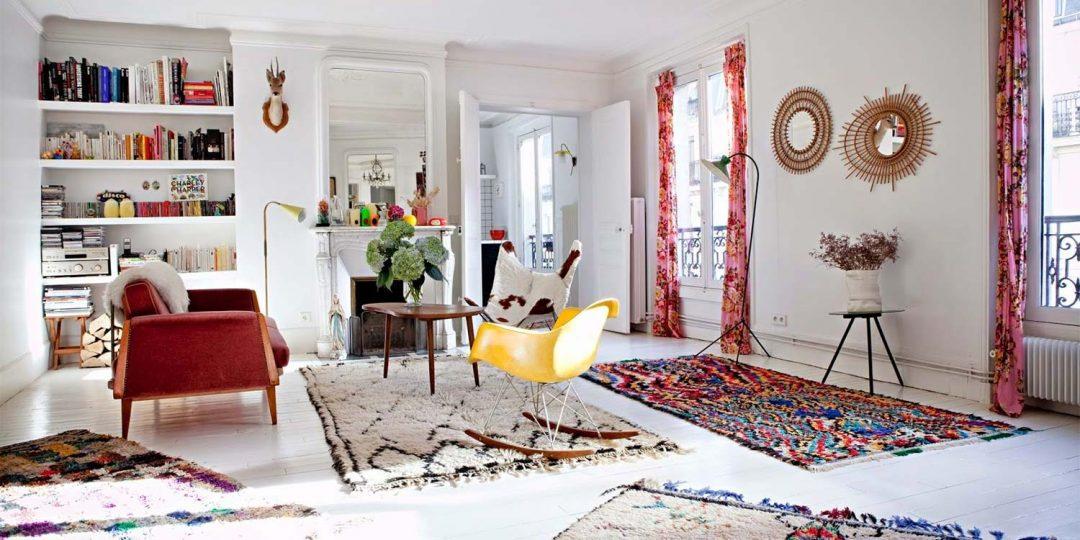 14 idées déco de tapis berbère
