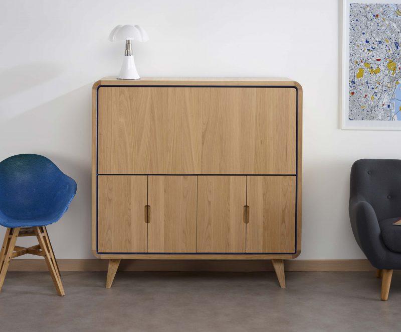 Cosy korner le mobilier qui se transforme en bureau for Meuble bureau modulable
