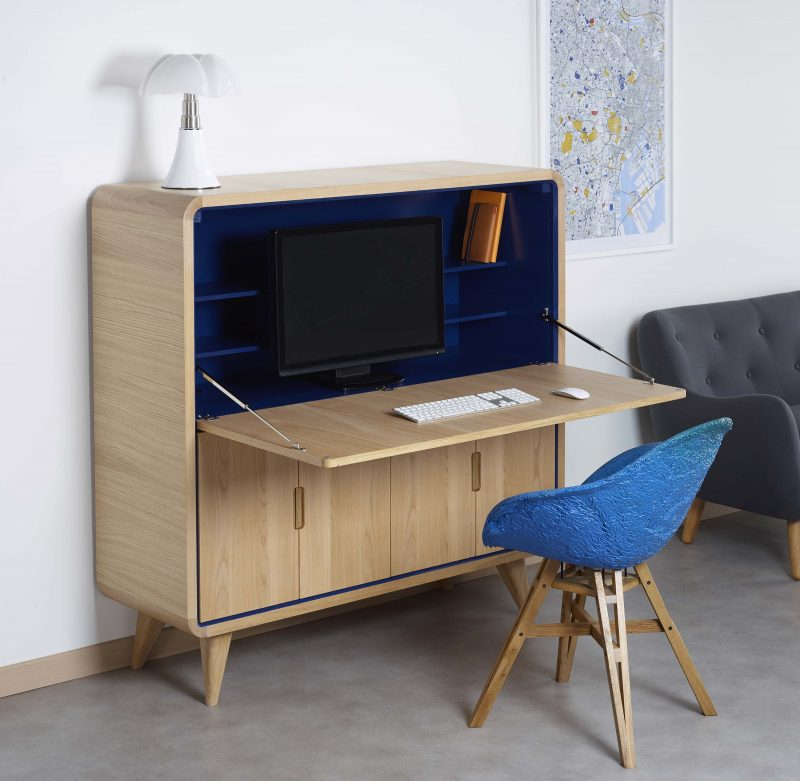 cosy korner le mobilier qui se transforme en bureau. Black Bedroom Furniture Sets. Home Design Ideas