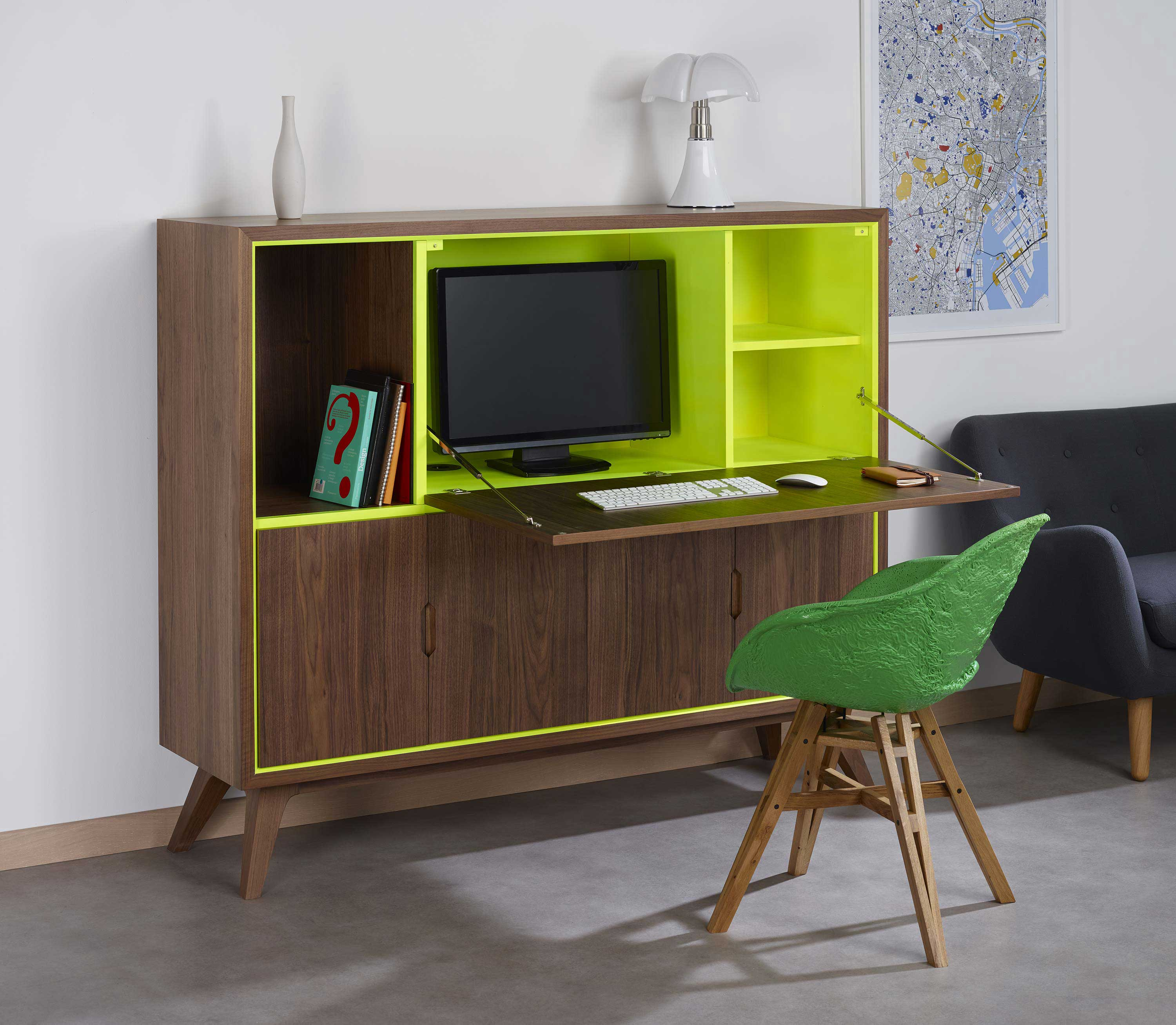 cosy korner mobilier modulable en bureau. Black Bedroom Furniture Sets. Home Design Ideas