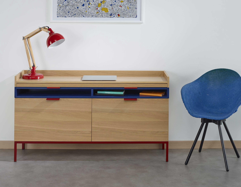 Cosy korner le mobilier qui se transforme en bureau for Meuble qui se transforme en table