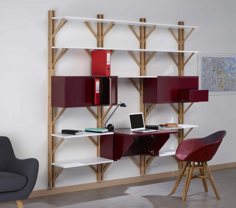 cosy korner le mobilier qui se transforme en bureau On table qui se transforme en etagere