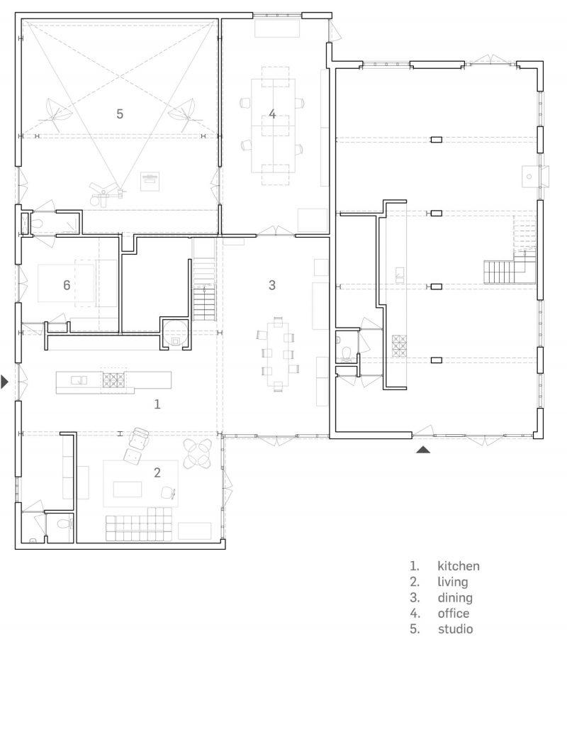 Plan loft grange