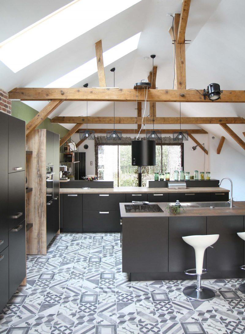 Loft avec cuisine Ixina au Mans