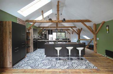 Cuisine Ixina dans un loft au Mans