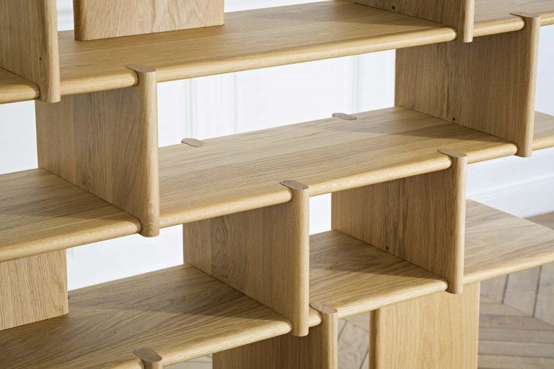 tana biblioth que sur mesure par junddo. Black Bedroom Furniture Sets. Home Design Ideas