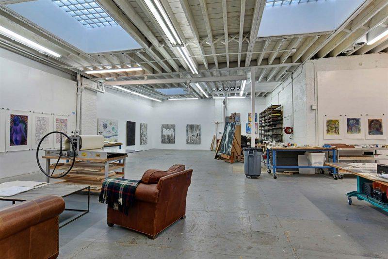 Plateau brut pour loft à Brooklyn