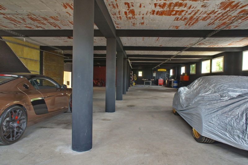 Garage du loft