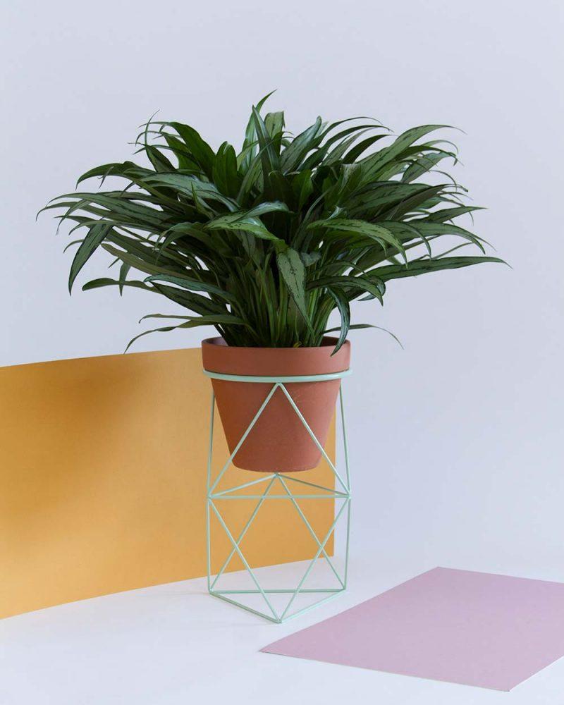 cache pot sur pied et support pour plante 19 id es d co. Black Bedroom Furniture Sets. Home Design Ideas