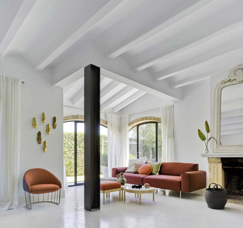 Salon avec mobilier Sancal