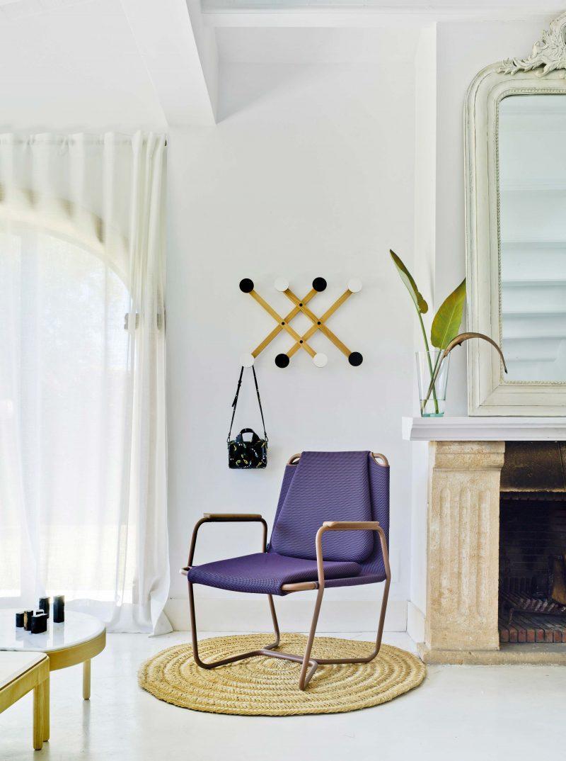 Fauteuil Sancal violet
