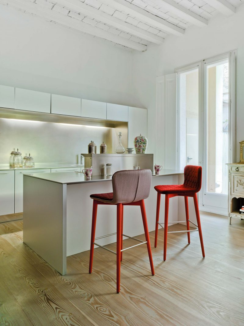 Chaises hautes de cuisine design