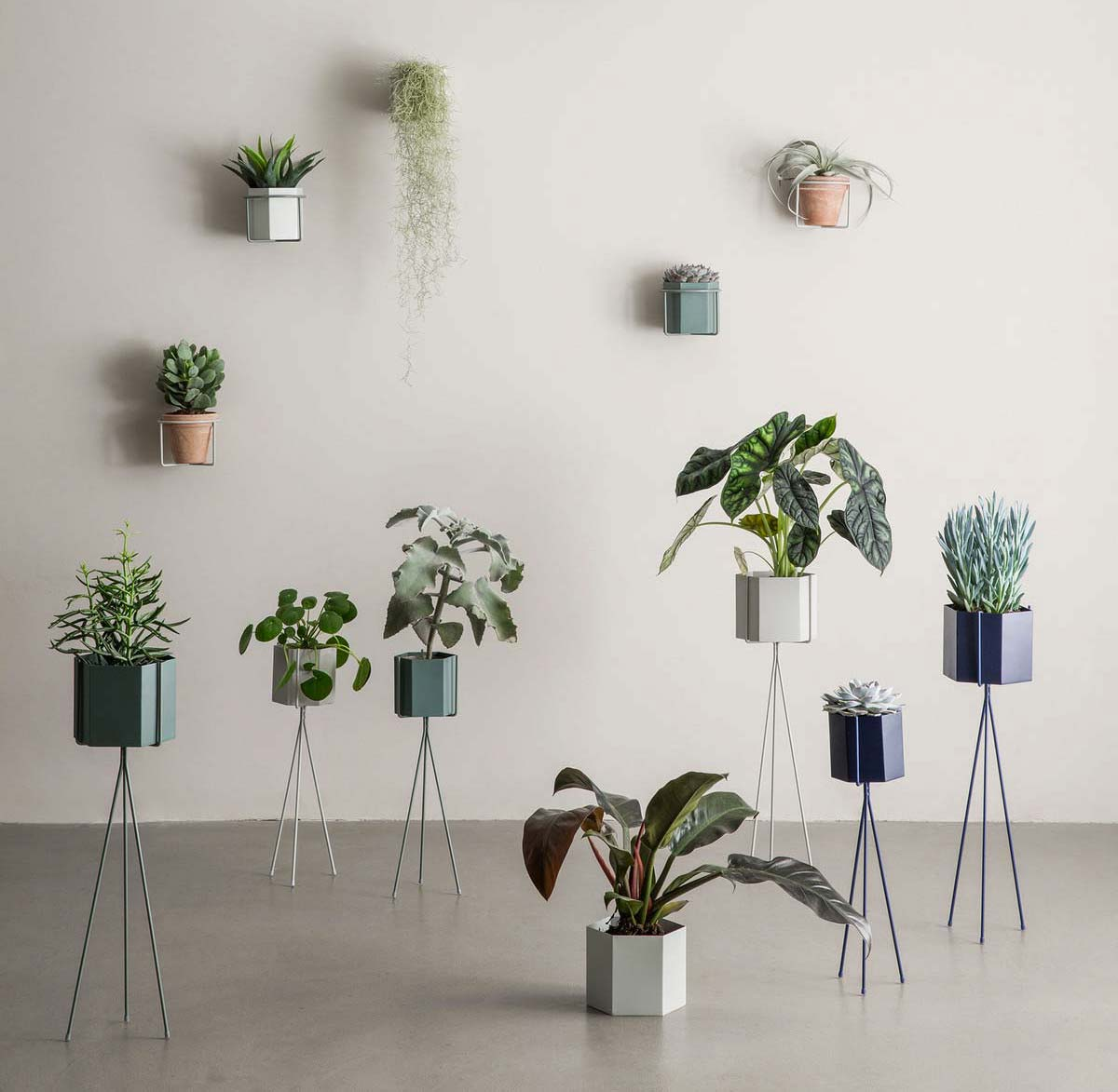 Support pour plantes par ferm living Support plantes interieur