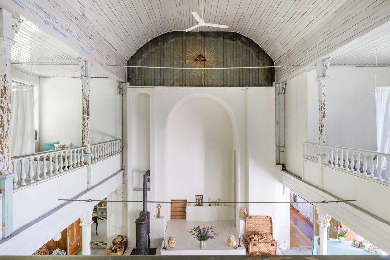 Loft a vendre dans une chapelle en suede
