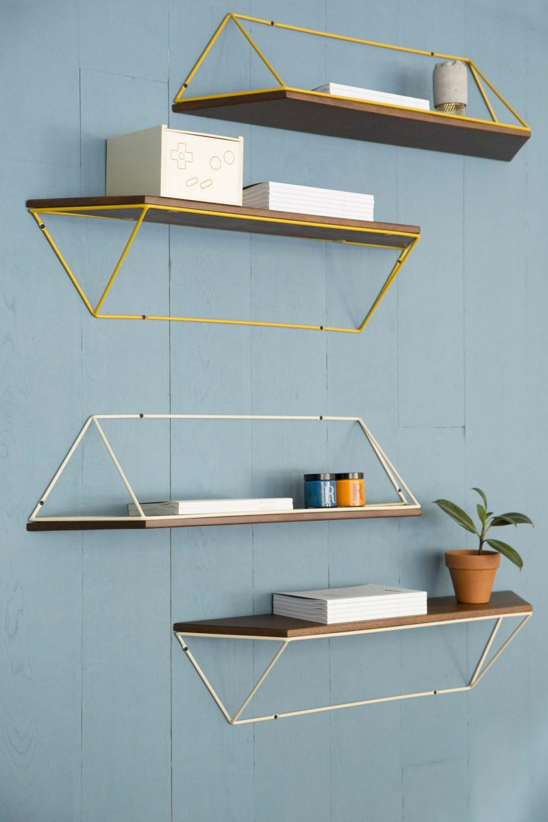 Petite tag re murale design - Etagere metal design ...