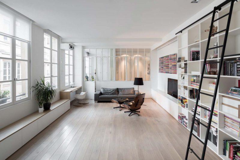 11 astuces pour s parer sans trop cloisonner for Verriere atelier blanche