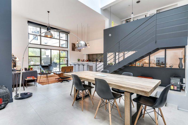 Loft avec double hauteur