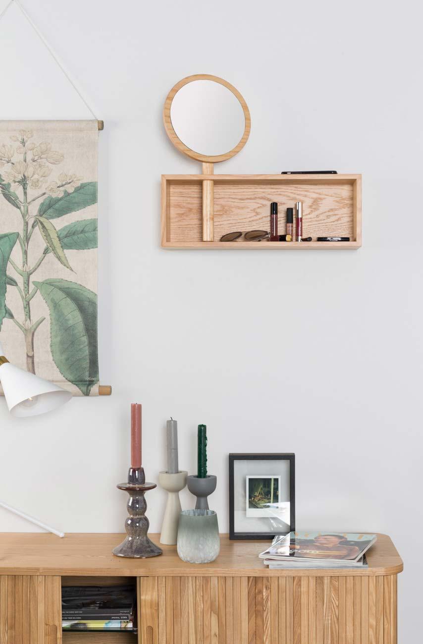 etagere coiffeuse bois. Black Bedroom Furniture Sets. Home Design Ideas