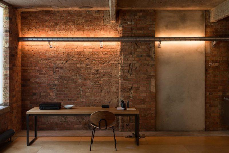 Loft murs brique londres