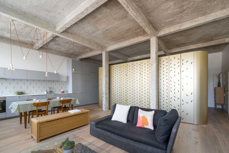 Loft avec module centrale à Paris