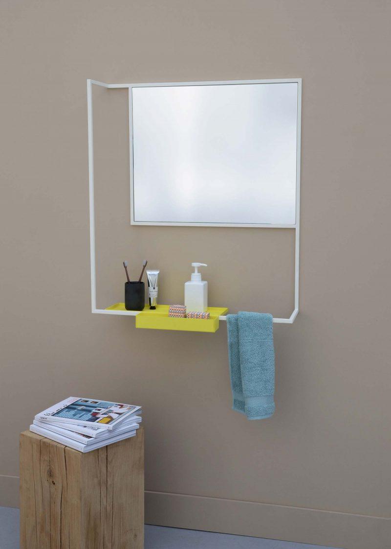 Miroir de salle de bains design