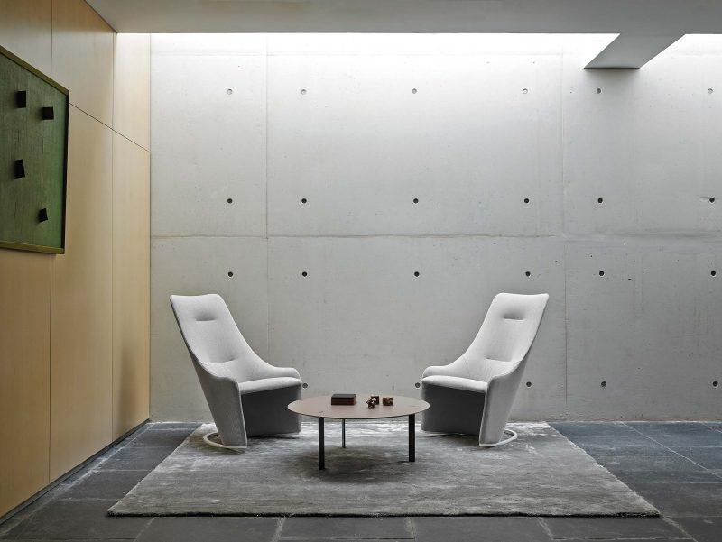 Fauteuil design et confortable viccarbe