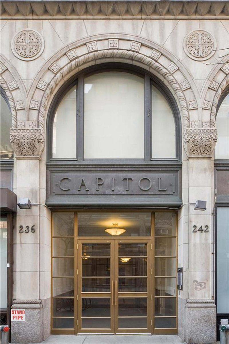 L'immeuble du loft à New York