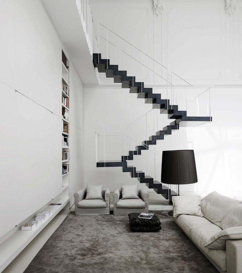 Escalier triple