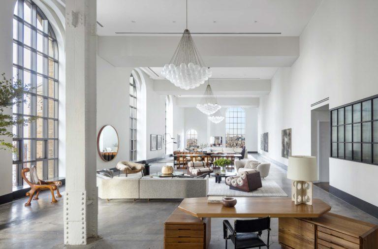Loft penthouse new york