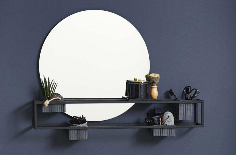 19 idées déco de miroir avec rangement