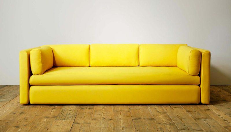 Canape jaune Hay Hackney