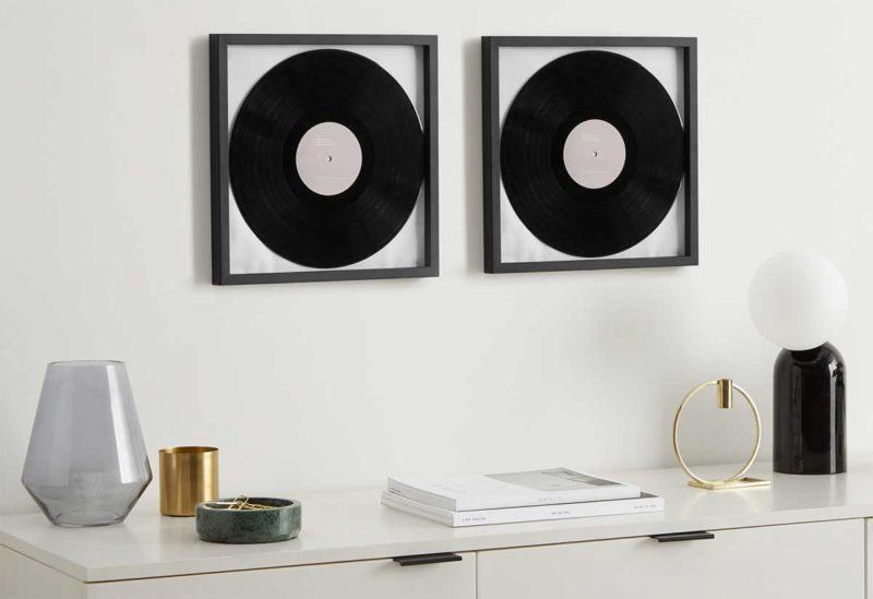 Cadre pour vinyle