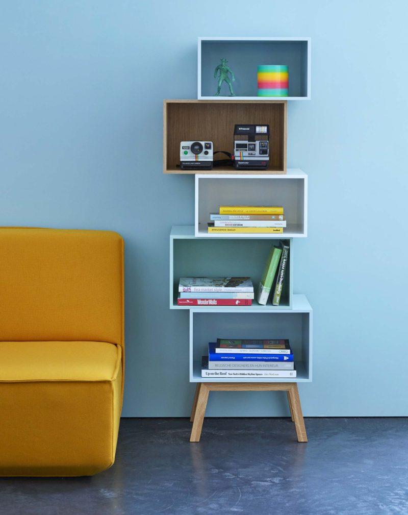 Canapé moderne jaune par Cubit