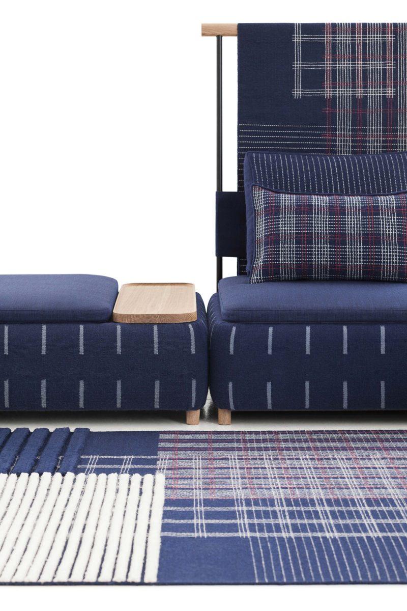 Lan, nouveau système modulaire de canapé par Gan