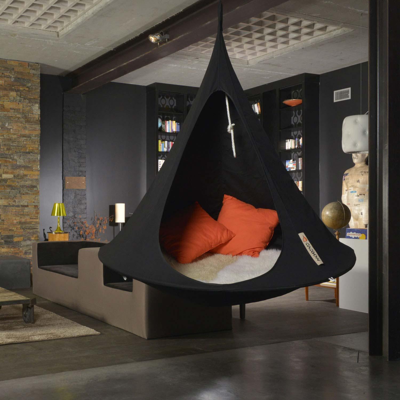 tente suspendue d 39 int rieur. Black Bedroom Furniture Sets. Home Design Ideas