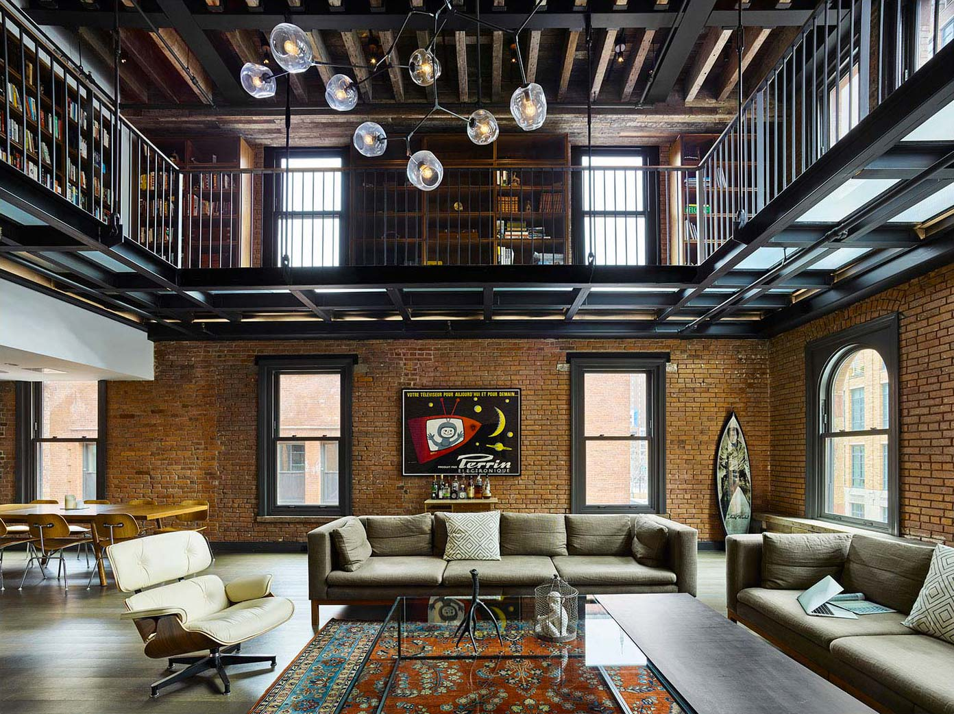 Loft industriel à New York