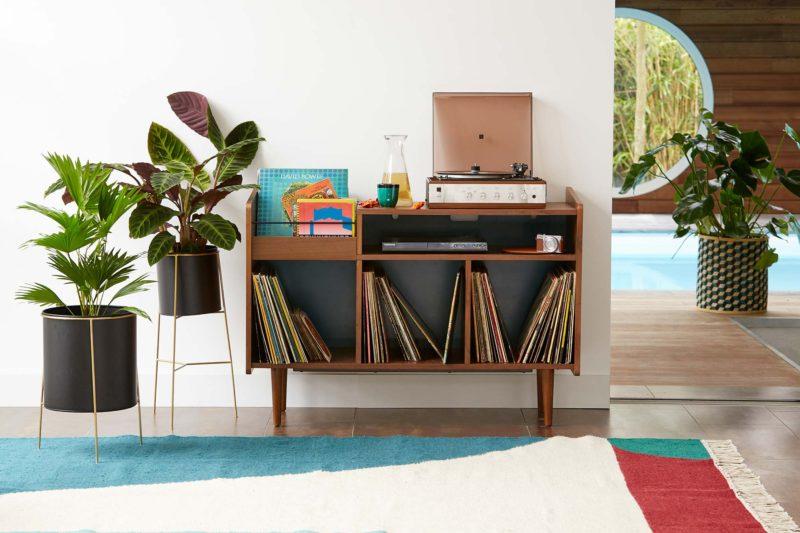 Meuble pour disques vinyles La Redoute Interieurs