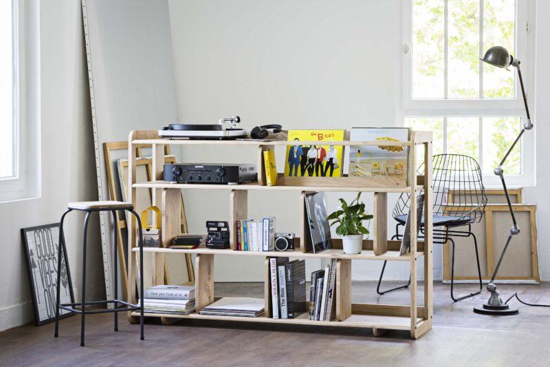 40 meubles pour ranger des vinyles. Black Bedroom Furniture Sets. Home Design Ideas