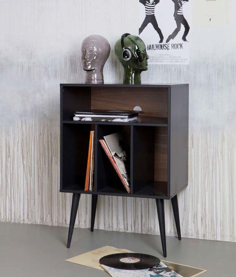 Petit meuble pour vinyles