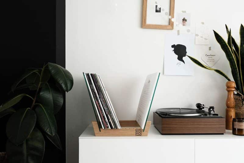 Support pour vinyles kopo