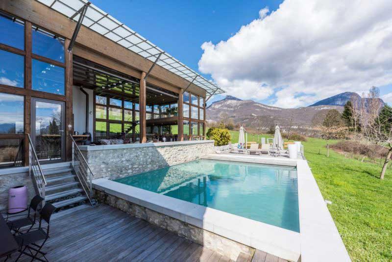 Loft avec piscine à Chambéry
