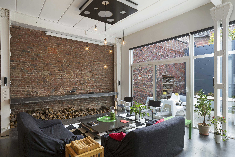 Le loft de Dimitri et Margaux dans une ancienne imprimerie à Liège