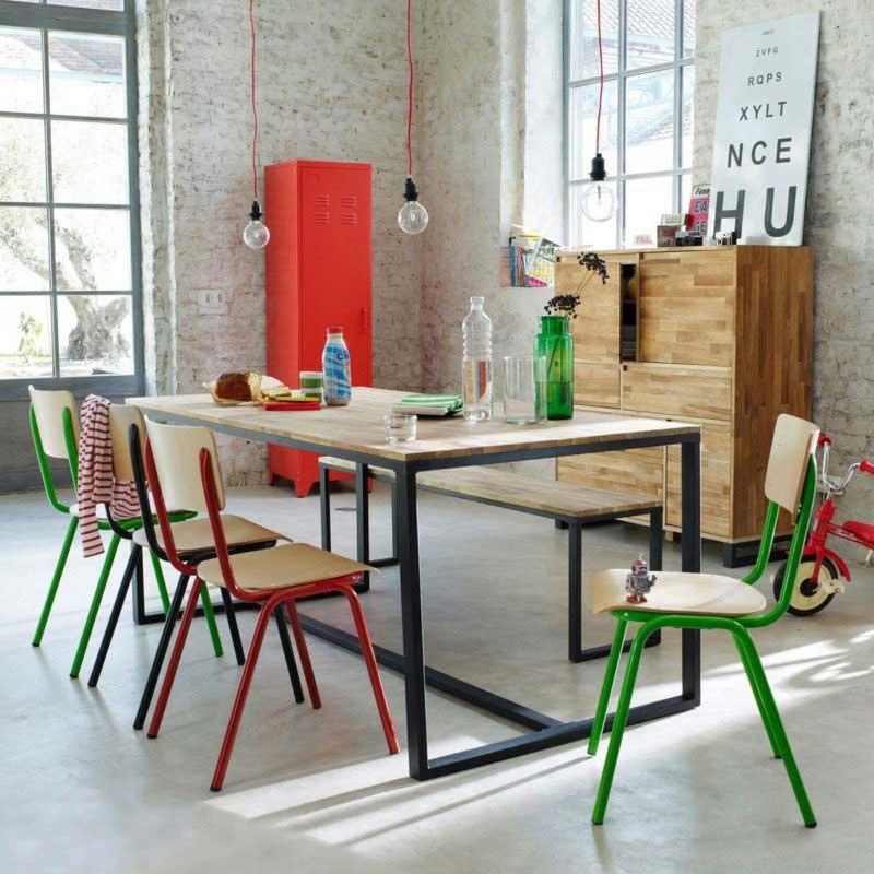 Table industrielle La Redoute