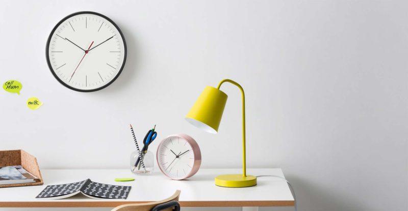 Horloge minimaliste made en soldes