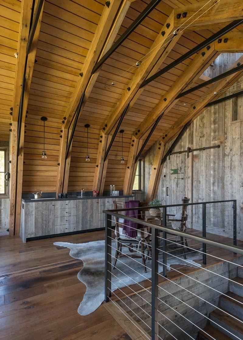 Loft grange en bois