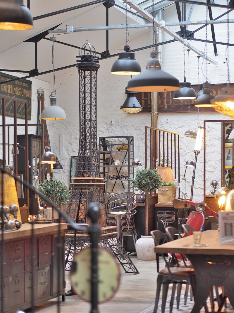Metal and woods mobilier industriel à paris
