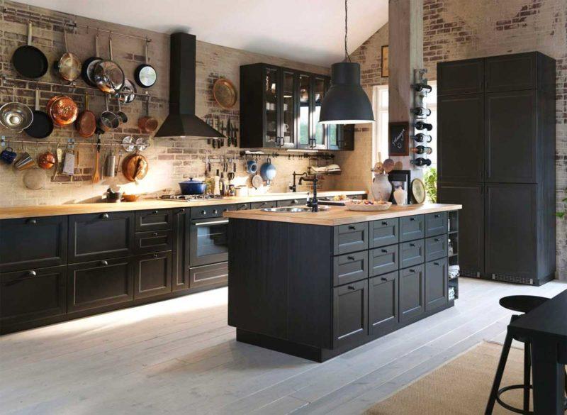 Cuisine Ikea Metod noire
