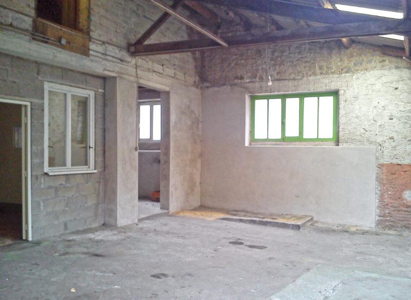 Garage à transformer en loft à Fougères