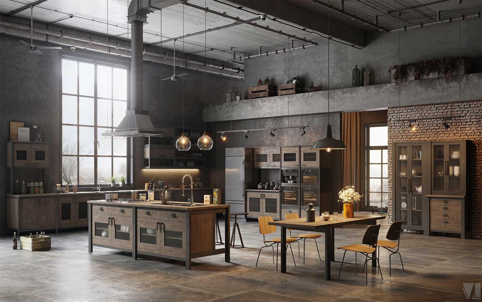 52 lofts industriels créés avec un logiciel de 3D